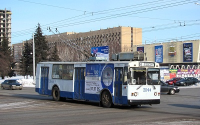 Тольяттинский троллейбус, фото Евгения Леонтьева с сайта transphoto.ru