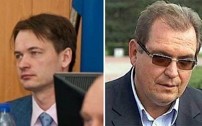 Алексей Бузинный (слева) и Сергей Анташев (справа)