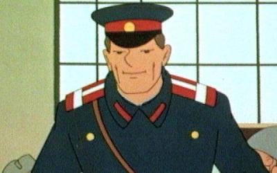 Дядя Степа - милиционер, кадр из мультфильма