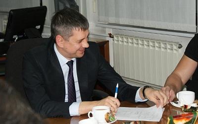 Сергей Андреев на встрече с блоггерами, фото Вячеслава Смирнова