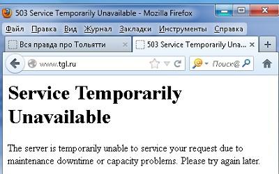 скриншот с сайта мэрии tgl.ru