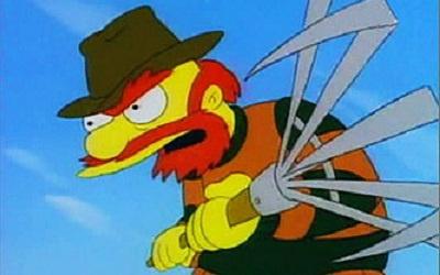 Садовник Вилли из мультсериала The Simpsons