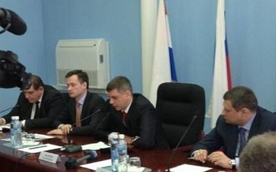 На аппаратном совещании, фото из твиттера Александра Долгополова