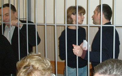 Николай Уткин, Наталья Немых и Алексей Сидоров в суде, фото с сайта pasmi.ru
