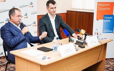 Александр Сергиенко (слева) и Михаил Прохоров (справа), фото mamaev.livejournal.com