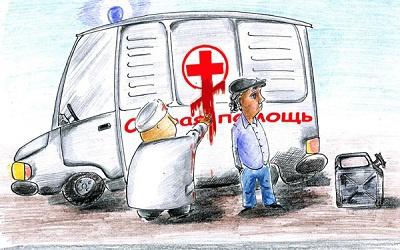 Карикатура Олега Малянова с сайта caricatura.ru