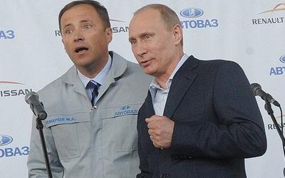 Игорь Комаров и Владимир Путин, фото kommersant.ru