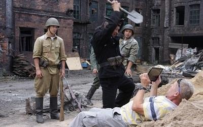 На съемках фильма, фото stukalov-sergey.livejournal.com/196361.html