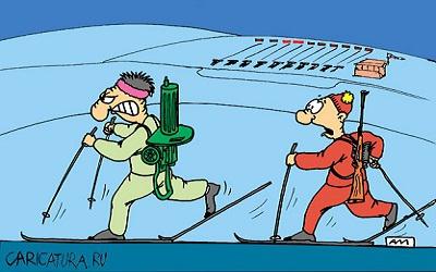 Карикатура Андрея Мухина с сайта caricatura.ru
