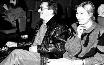 Наталья Дроздова с мужем, Глебом Дроздовым. Архивное фото.