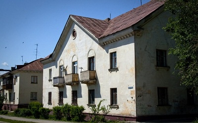 Старый дом в Комсомольском районе, фото chronograph.livejournal.com