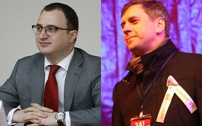 Александр Бандаров (слева) и Сергей Андреев (справа)