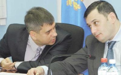 Сергей Андреев и Александр Хинштейн, фото Евгения Халилова, ПС