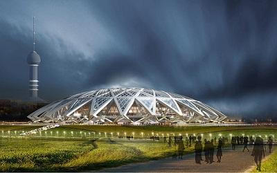 Эскиз нового стадиона в Самаре